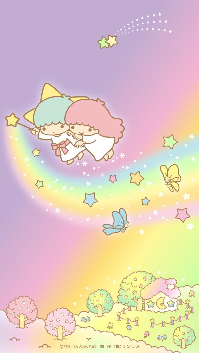 Sanrio Wallpaper And Little Twin Stars Image Iphone Little Twin Stars 640x1136 Download Hd Wallpaper Wallpapertip