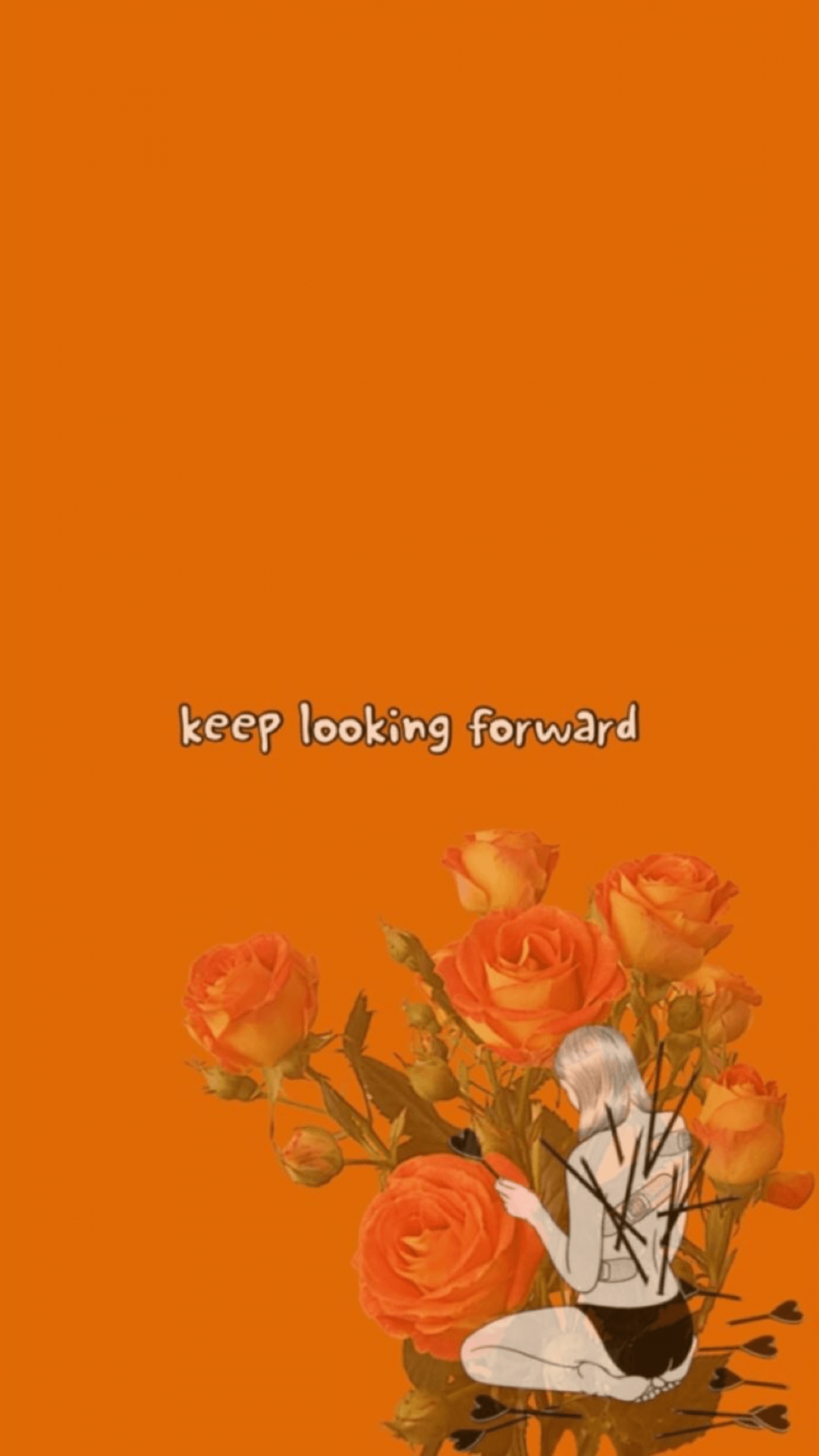 Orange Tumblr Aesthetic Orange Aesthetic 1080x1920 Download Hd Wallpaper Wallpapertip
