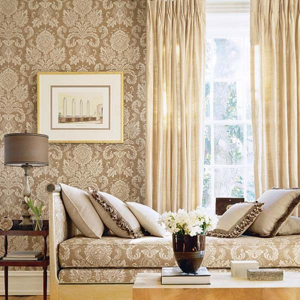 Pretty Wallpaper French Settee Pillows Gold Mirror Wallpaper 600x600 Download Hd Wallpaper Wallpapertip