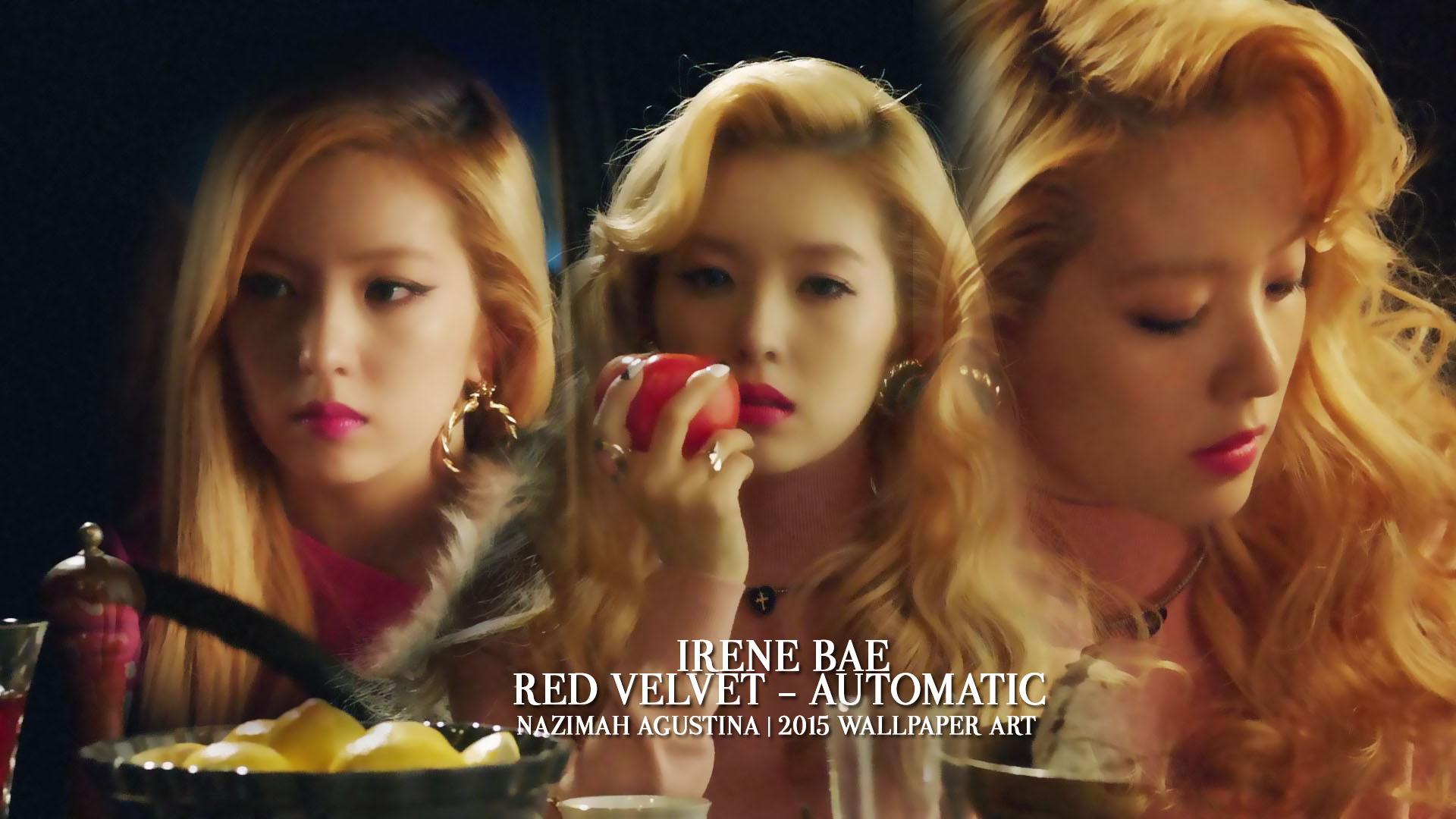 Irene Red Velvet Automatic 1920x1080 Download Hd Wallpaper Wallpapertip