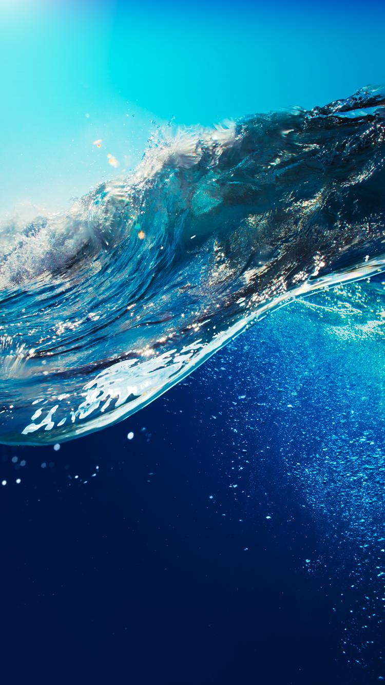 夏の電話の背景のhd 水iphoneの壁紙 750x1334 Wallpapertip