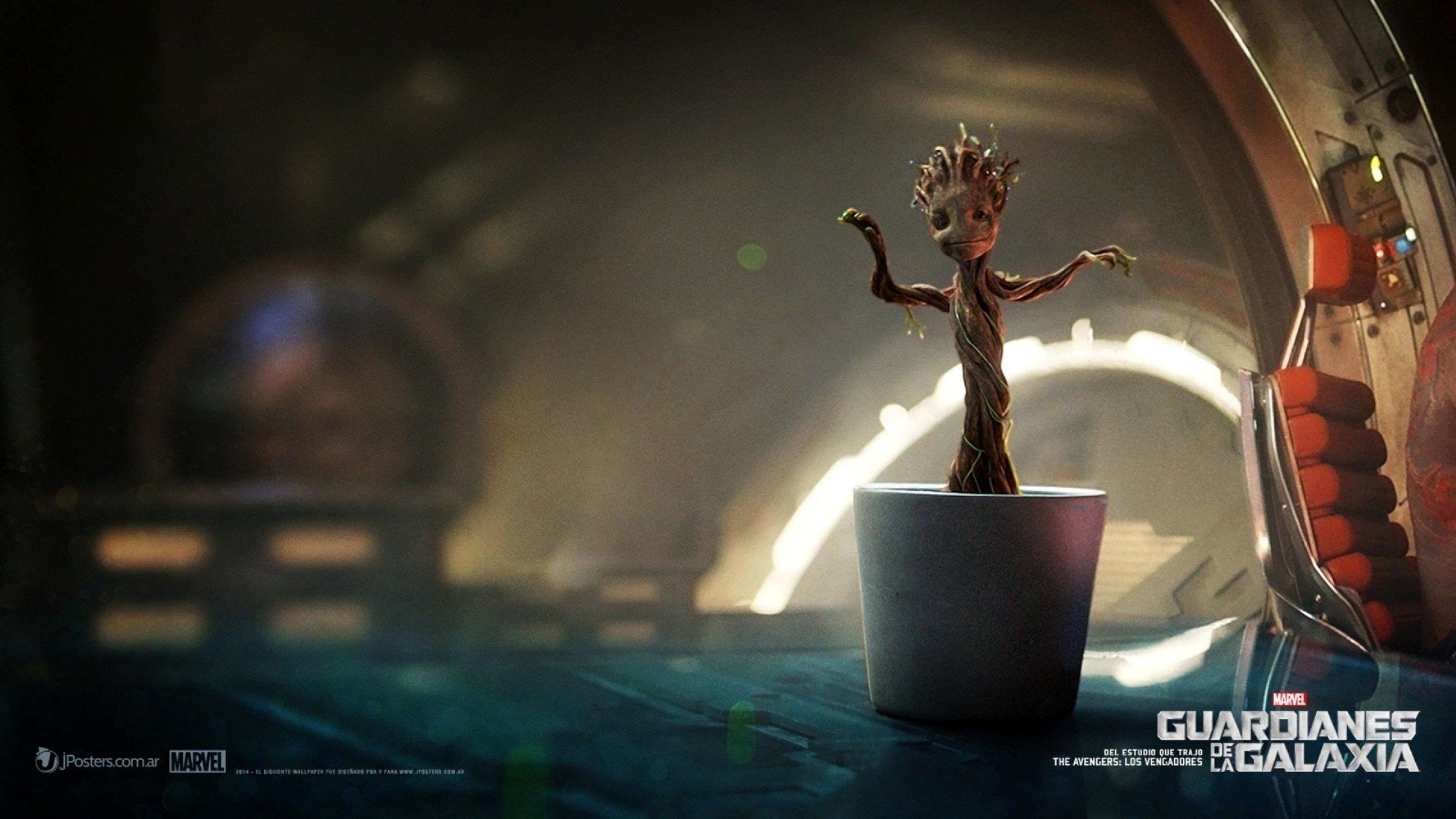 Guardians Of The Galaxy Baby Groot Wallpaper Baby Groot Pc Wallpaper 4k 2880x1620 Download Hd Wallpaper Wallpapertip