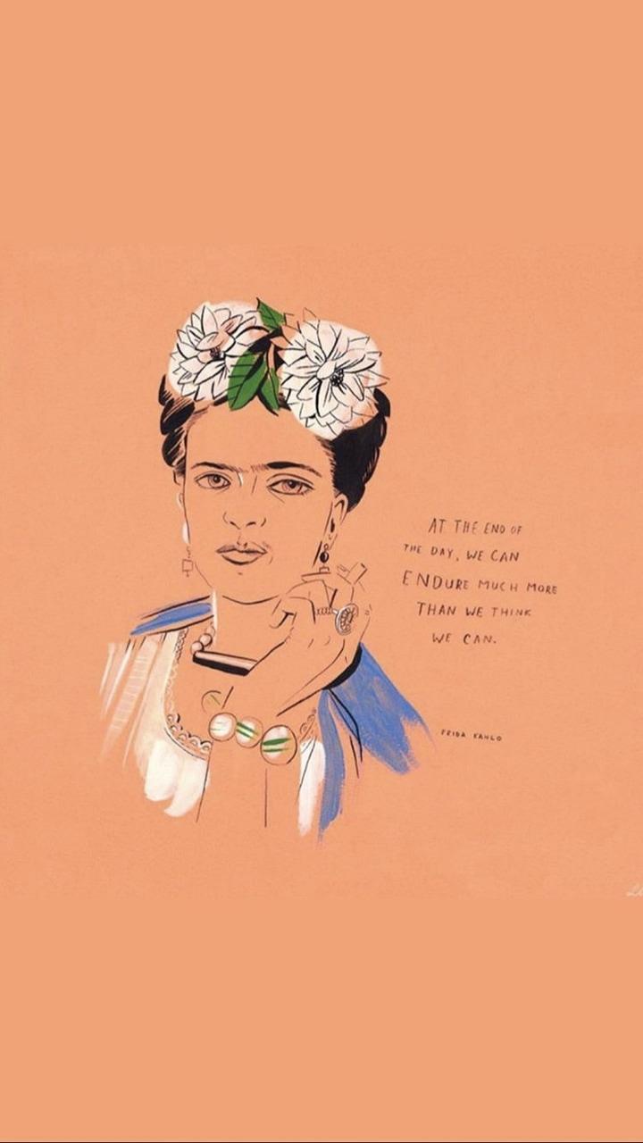 Quotes Frida Kahlo And Art Image Love Frida Kahlo Quotes 720x1280 Download Hd Wallpaper Wallpapertip