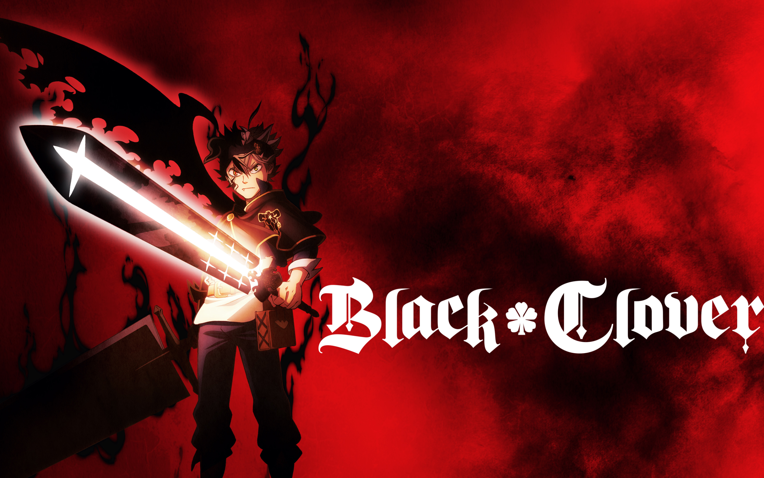 Asta, Black Clover, Anime, Sword, Demon Wallpaper - Black ...