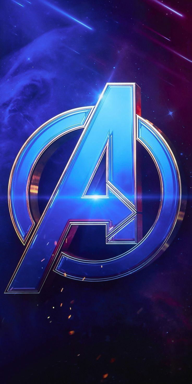 Avengers Wallpaper Logo 736x1472 Download Hd Wallpaper Wallpapertip