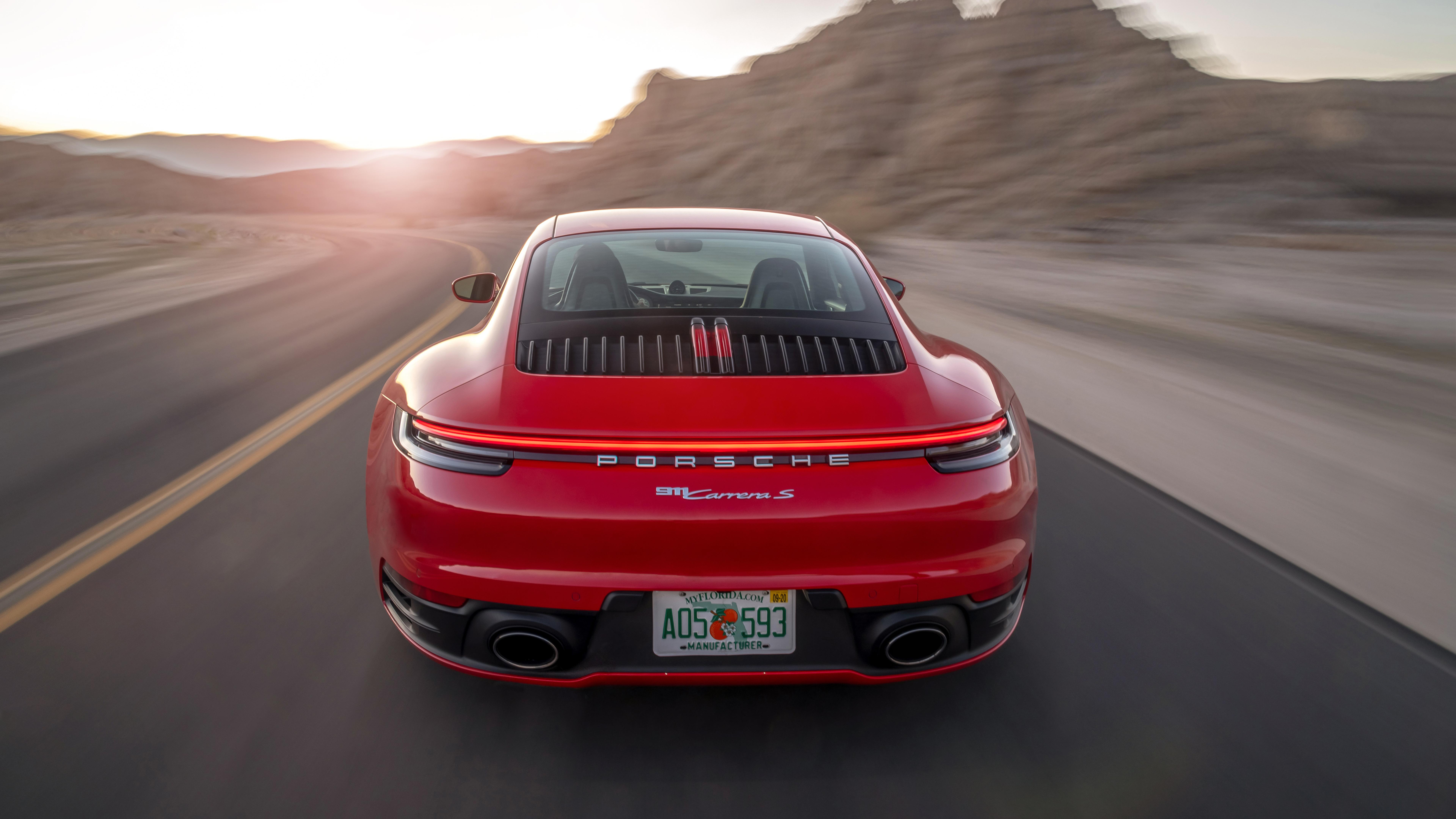2020 Porsche 911 Carrera S 1366x768 Download Hd Wallpaper Wallpapertip