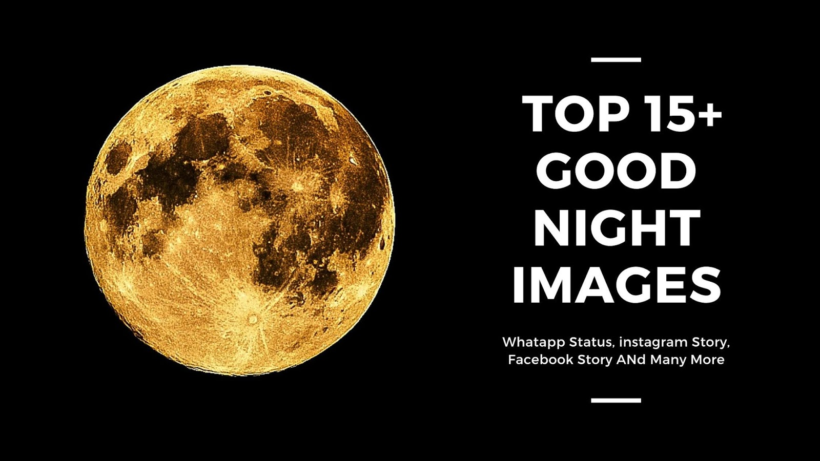 Best 15 Good Night Photo Full Moon 8th March 1600x900 Download Hd Wallpaper Wallpapertip