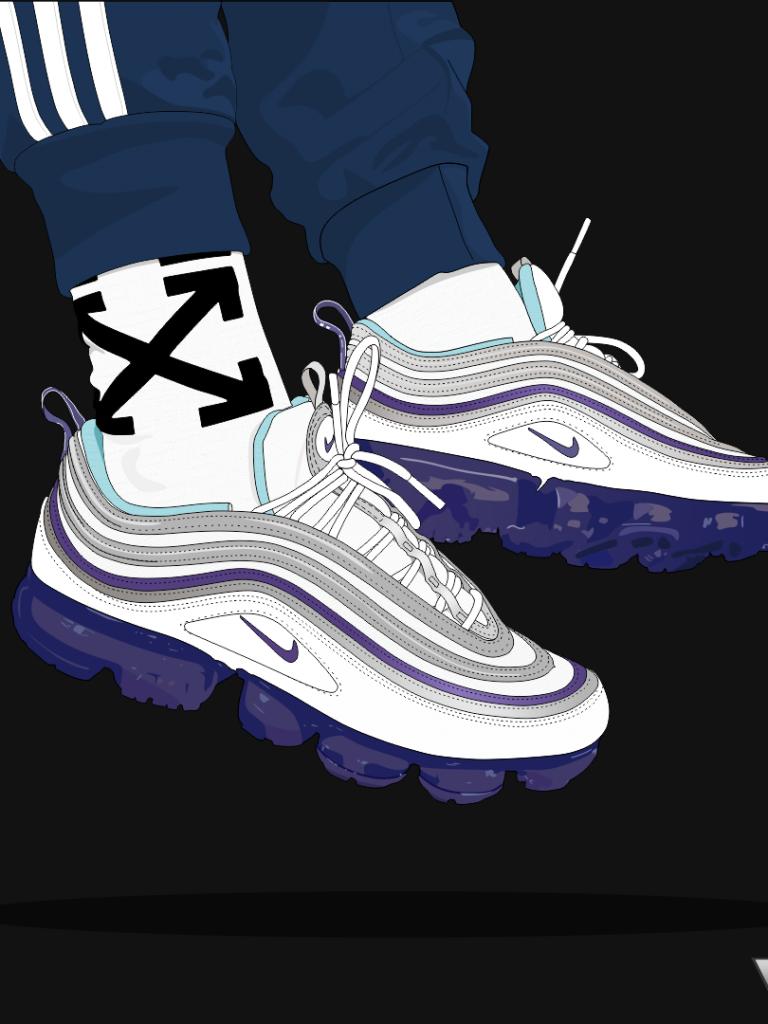 Día del Niño tal vez inalámbrico  Spviss Vapormax 97 Nike Air Max In 2019 Shoes Wallpaper - Hypebeast Wallpaper  Shoes - 768x1024 - Download HD Wallpaper - WallpaperTip