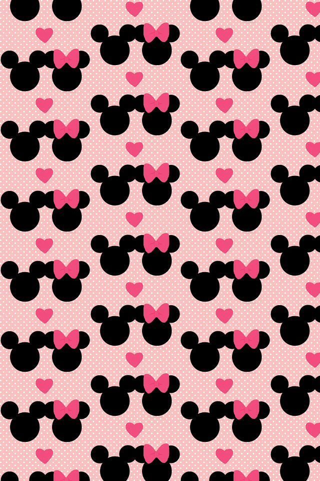 Minnie Mouse And Mickey Mouse Iphone Wallpaper Background Fondo De Mickey Mouse Y Minnie 640x960 Download Hd Wallpaper Wallpapertip
