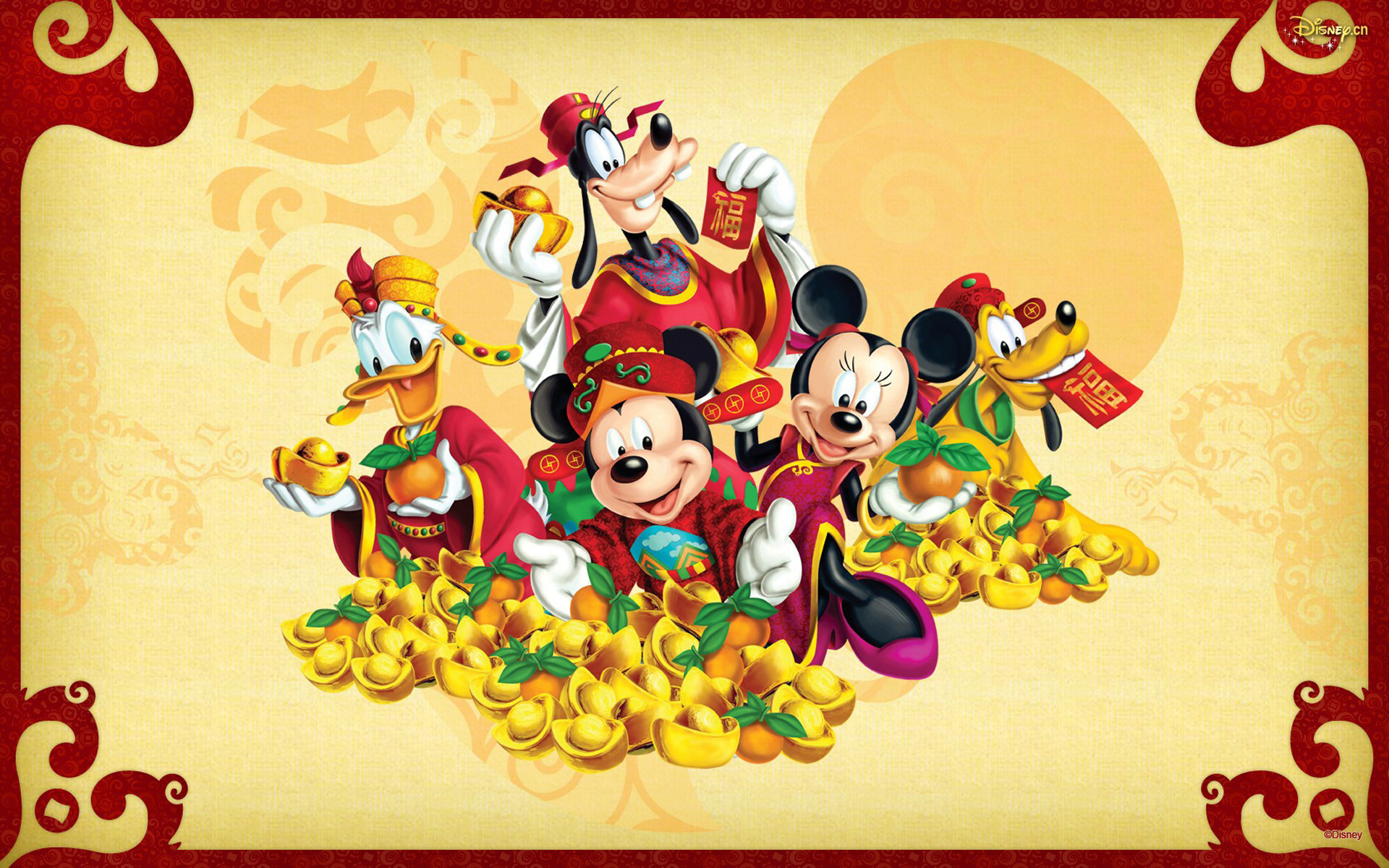 Mickey Mouse New Year Wallpapers Disney Happy New Year Hd 1920x1200 Download Hd Wallpaper Wallpapertip