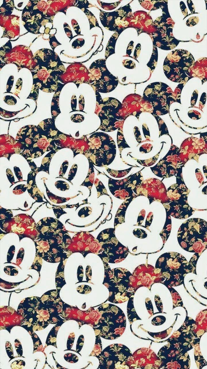 10 Disney Wallpaper For Iphone 5 Download Wallpaper Mickey Mouse Wallpaper Flower 720x1280 Download Hd Wallpaper Wallpapertip