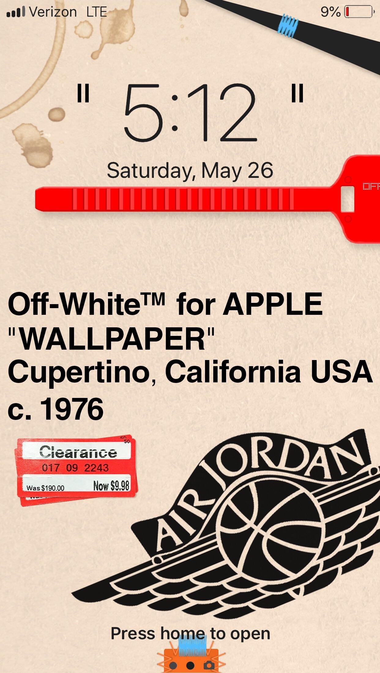 Iphone Off White Jordan 1242x2202 Download Hd Wallpaper Wallpapertip