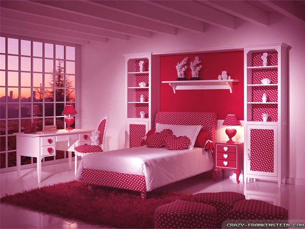 Pink Colour Bedroom Design 1024x768 Download Hd Wallpaper Wallpapertip