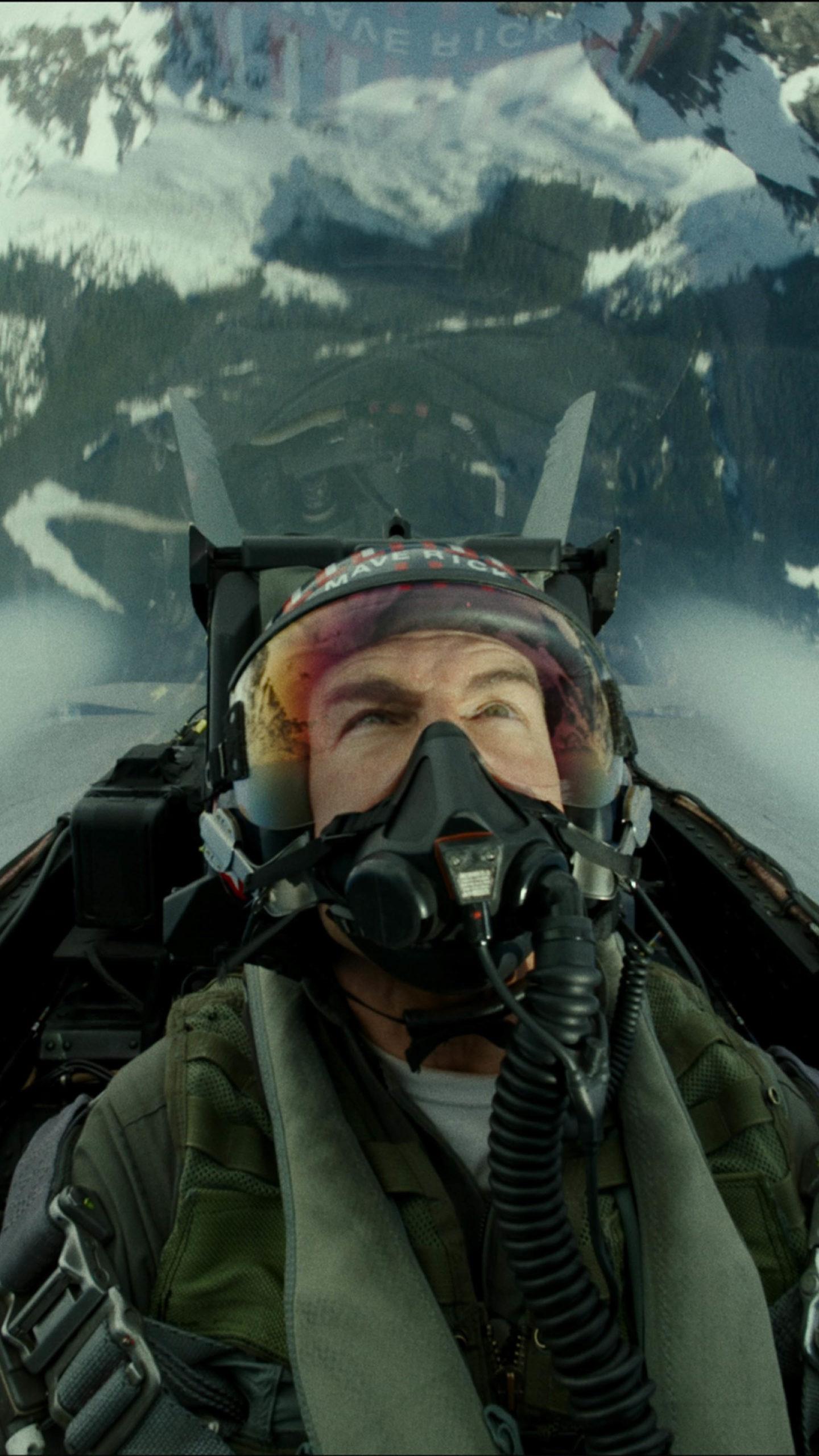 Top Gun Maverick Tom Cruise Jet Flight 4k Ultra Hd Top Gun 2 Meverick 1440x2560 Download Hd Wallpaper Wallpapertip