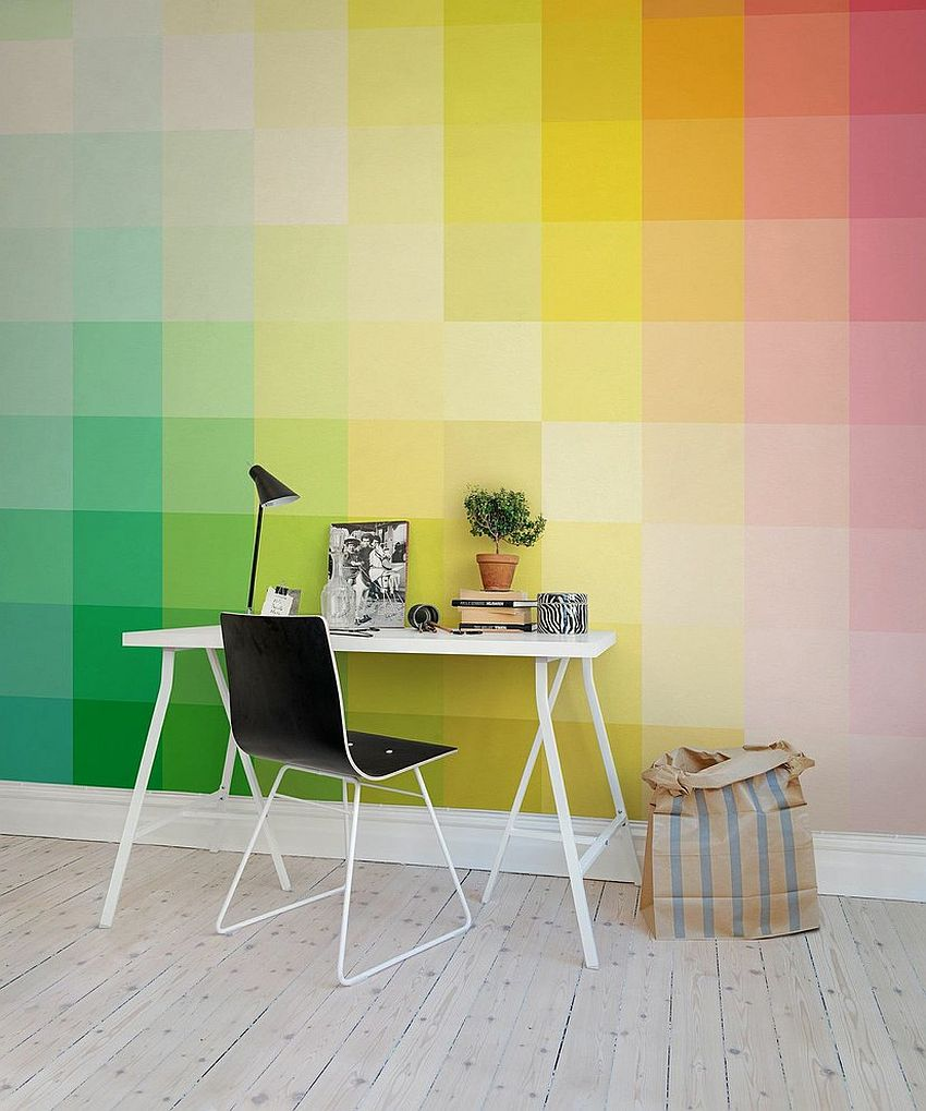 Interior Cool Office Wallpaper Beautiful On Interior Multi Colored Office Walls 736x882 Download Hd Wallpaper Wallpapertip
