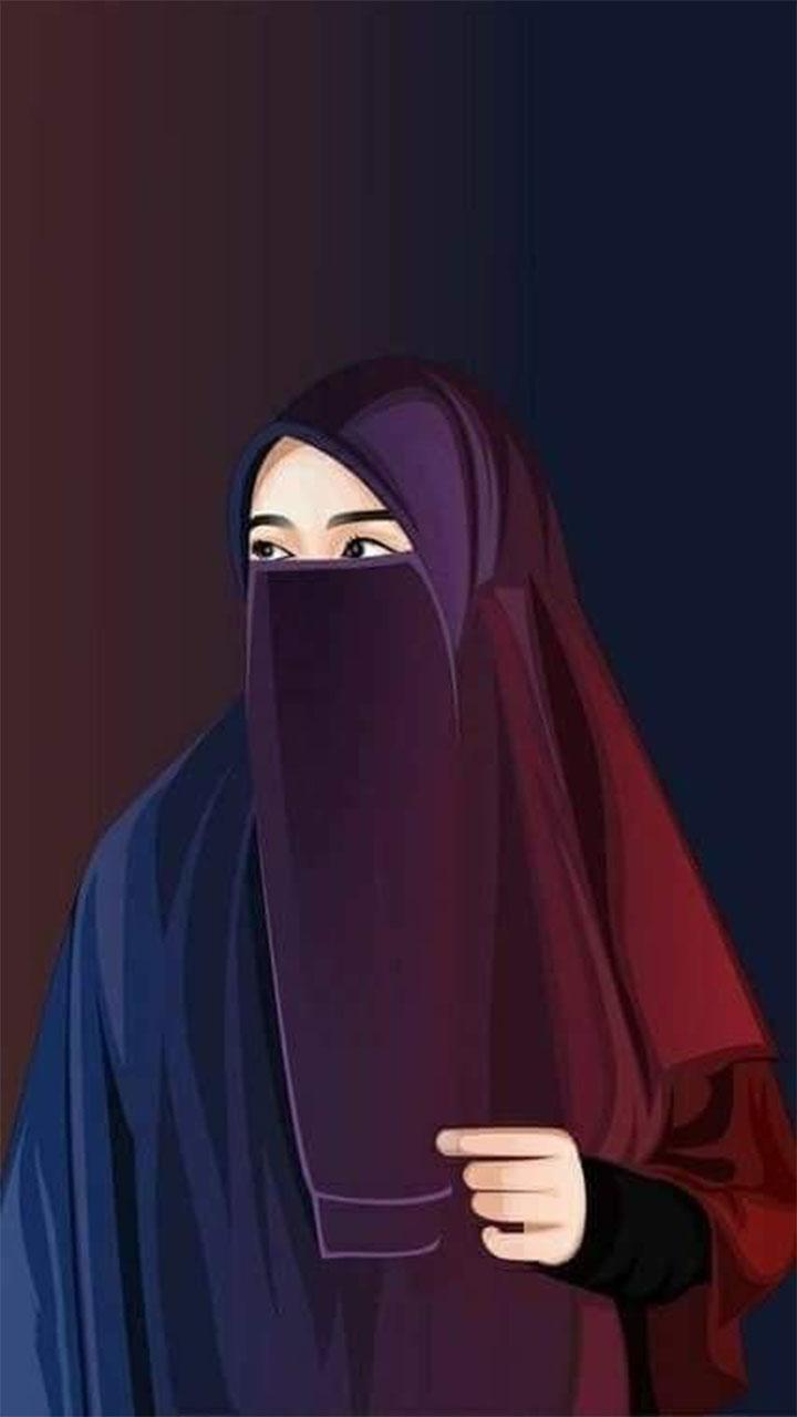 Wallpaper For Android Apk Download   Kartun Muslimah Bercadar ...