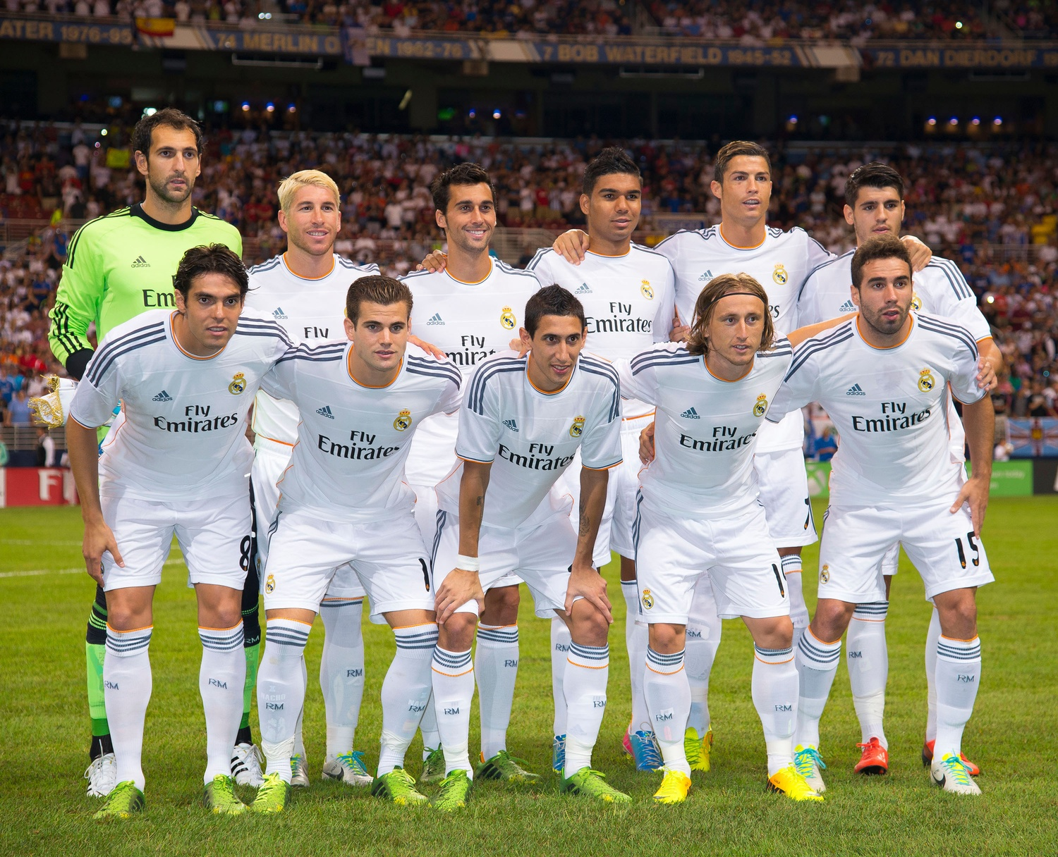 Real Madrid Team 2014 - 1500x1216 - Download HD Wallpaper -