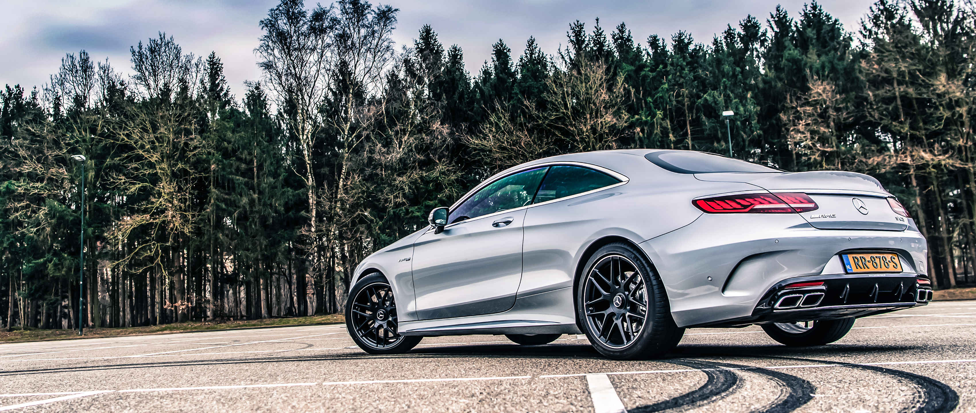 Mercedes Amg S 63 4matic Coupe C 217 In Diamond Silver S63 Amg Coupe Wallpaper 4k 3400x1440 Download Hd Wallpaper Wallpapertip