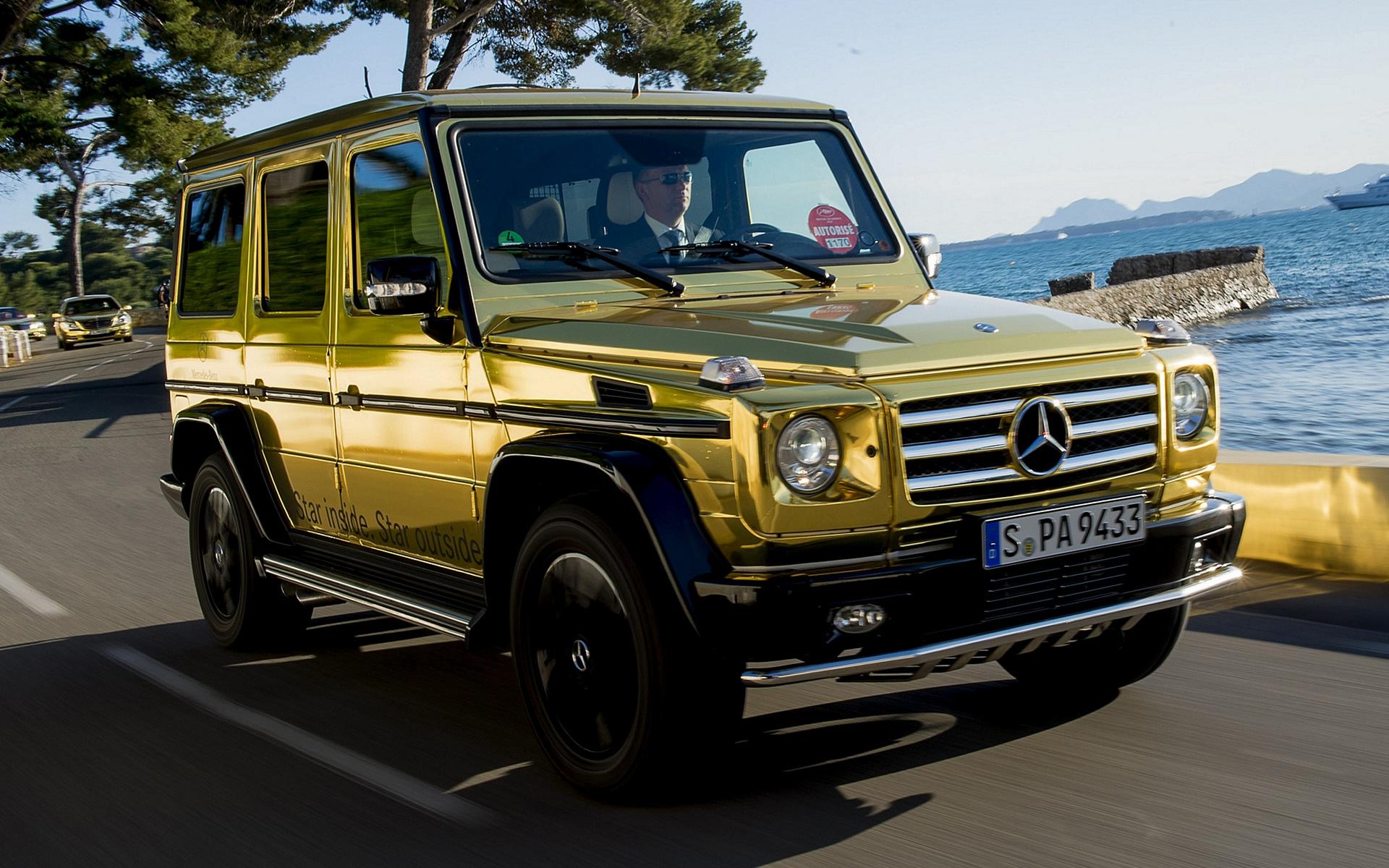 Mercedes Benz G Class Wallpaper Hd Mercedes Amg G Class Gold 1920x1200 Download Hd Wallpaper Wallpapertip