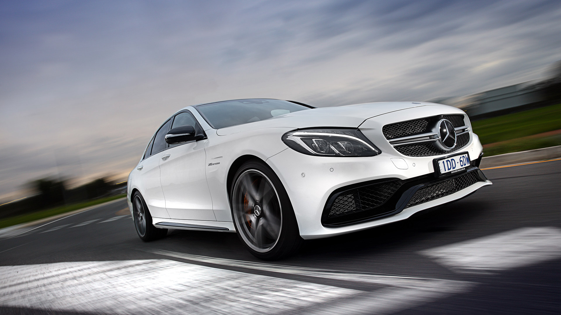 Mercedes Benz C43 Amg Wallpaper Hd Mercedes Amg C63 1920x1080 Download Hd Wallpaper Wallpapertip