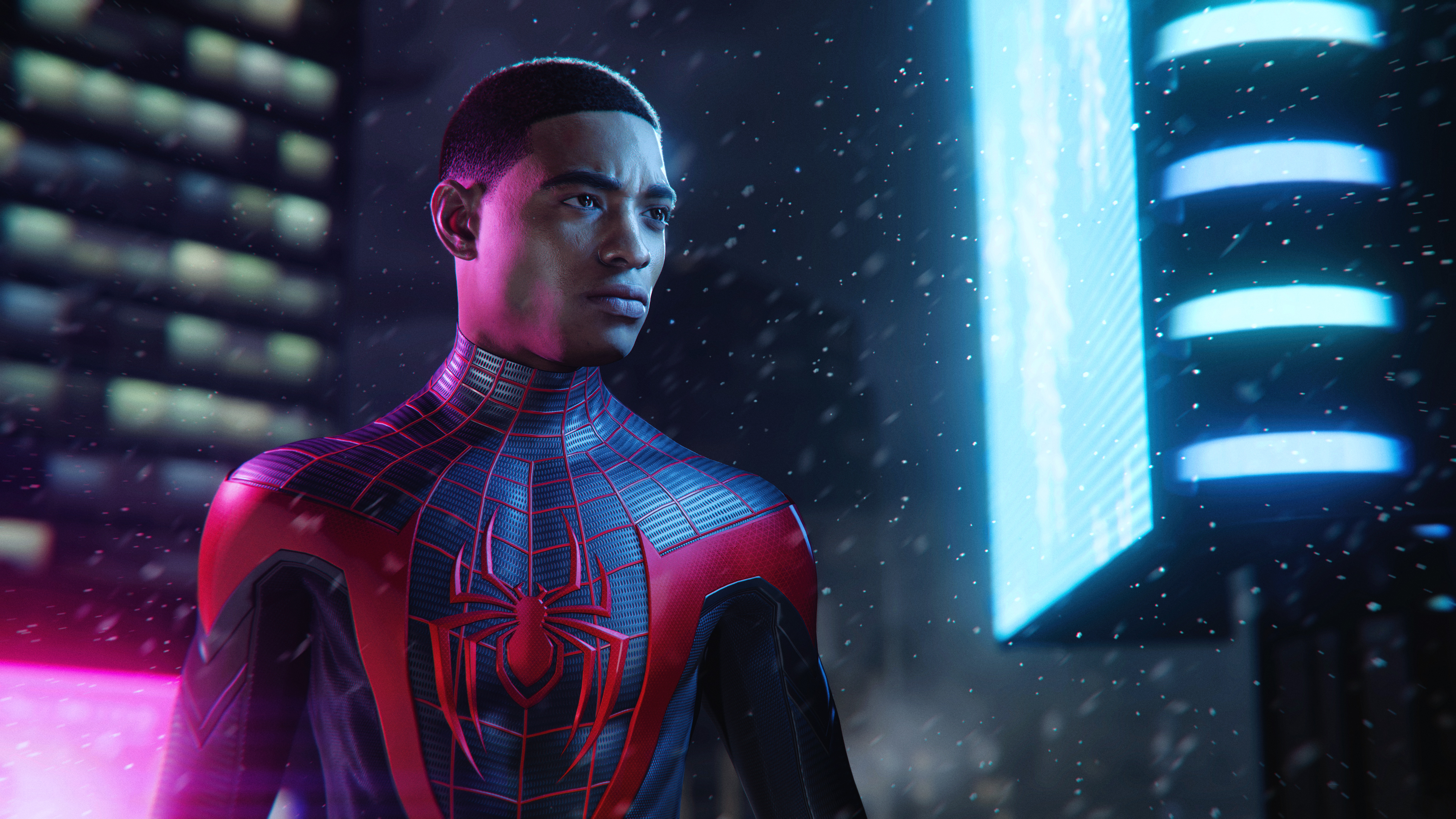 Spiderman Miles Morales Ps5 - 3840x2160 - Download HD Wallpaper - WallpaperTip