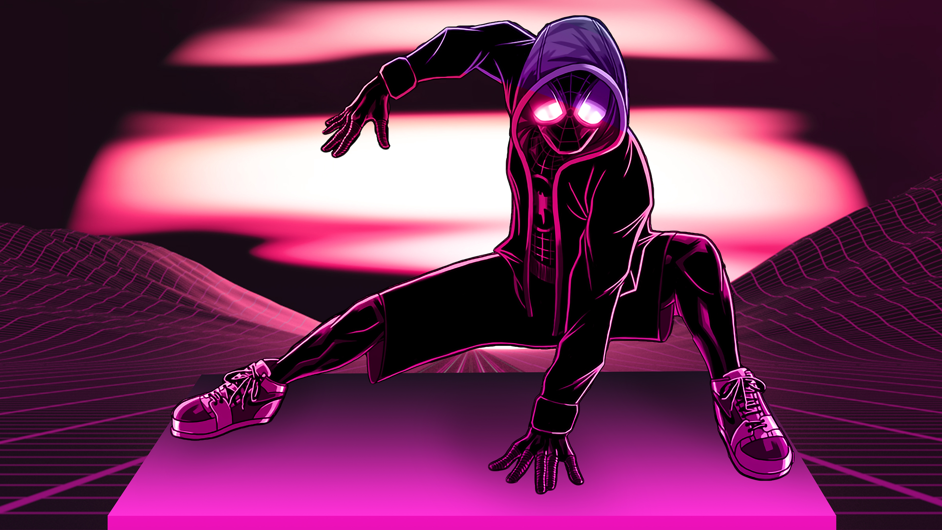 The Spider Verse Wallpaper 4k ...