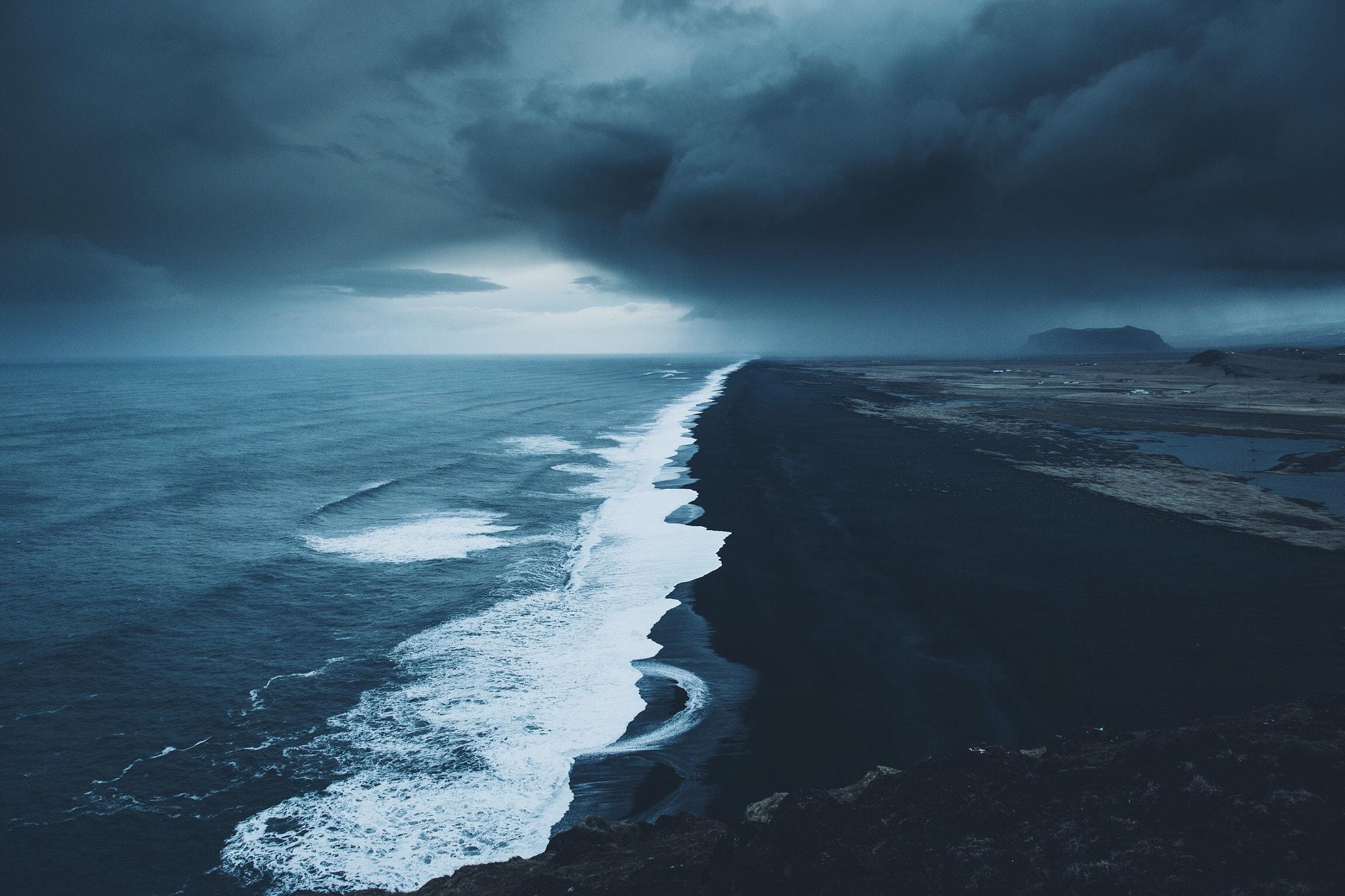 Iceland Black Beach 2048x1364 Download Hd Wallpaper Wallpapertip