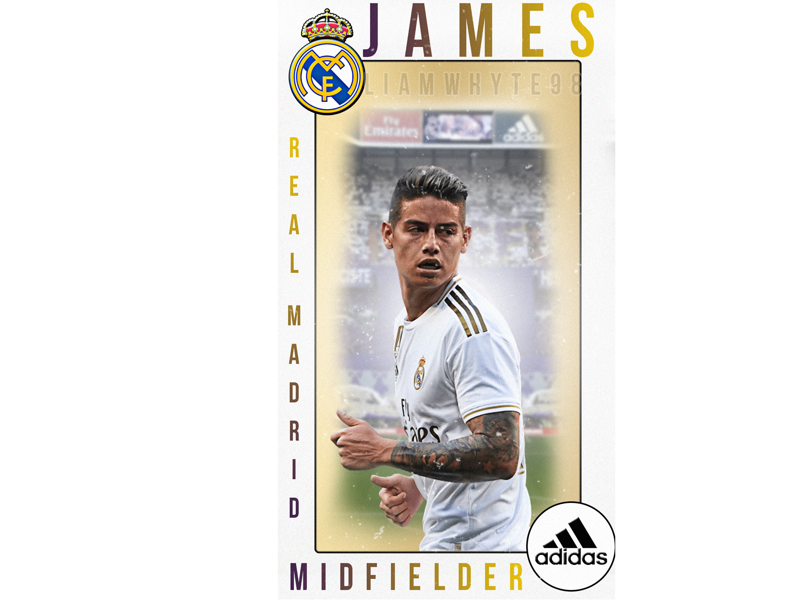 Real Madrid Player Card Profile Trading Card Trading James Rodriguez Posters Real Madrid 1600x1200 Download Hd Wallpaper Wallpapertip
