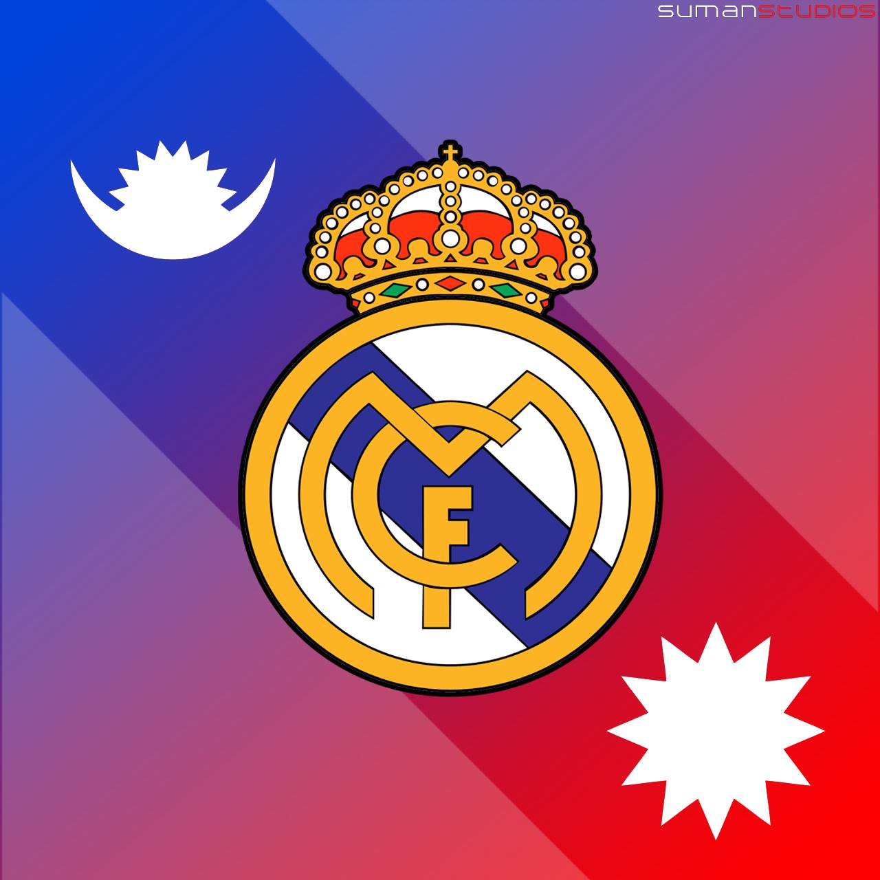 Real Madrid Fc Nepal Logo Wallpaper By Sumanstudios Reyal Madrid Football Club 1280x1280 Download Hd Wallpaper Wallpapertip