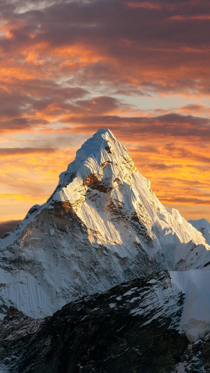 Mount Everest Wallpaper Iphone 720x1280 Download Hd Wallpaper Wallpapertip