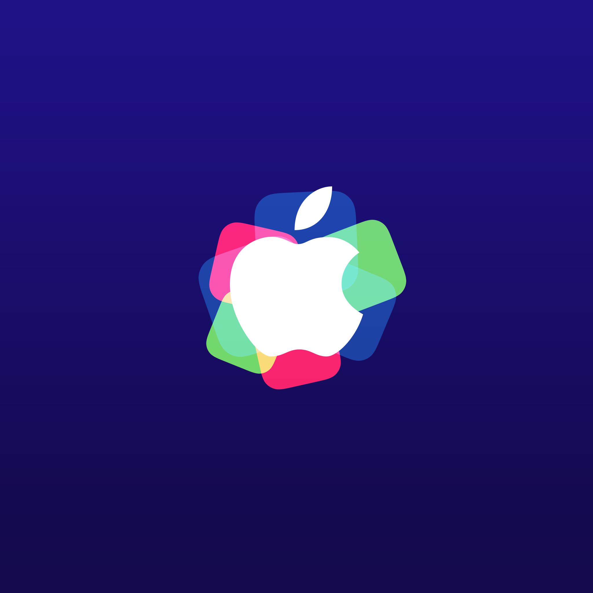 Apple Event September 9 Wallpaper Bart172 Ipad Apple Logo Event 2048x2048 Download Hd Wallpaper Wallpapertip