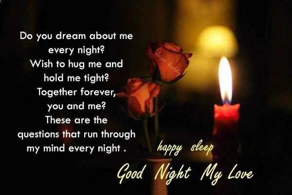 Sms liebe nacht gute Gute nacht