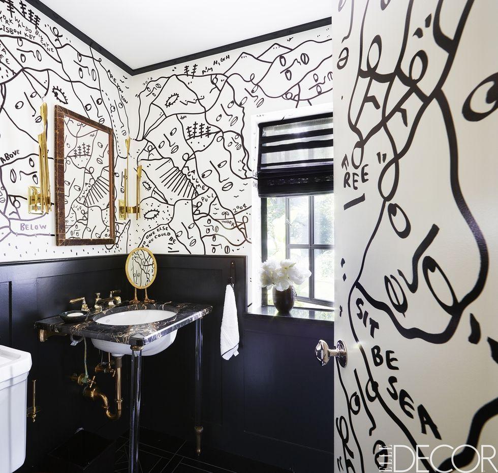 Black And White Bathroom Best Bathroom Designs 980x931 Download Hd Wallpaper Wallpapertip