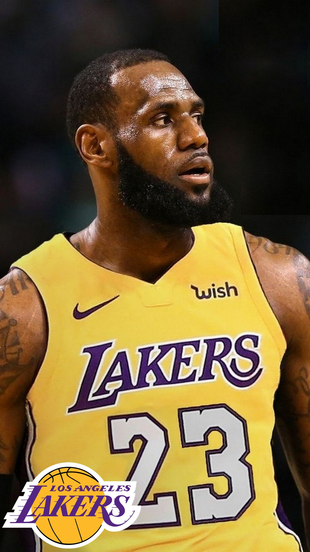 La Lakers Lebron James Wallpaper Iphone Hd With Image Lebron James Laker Hd 1080x1920 Download Hd Wallpaper Wallpapertip