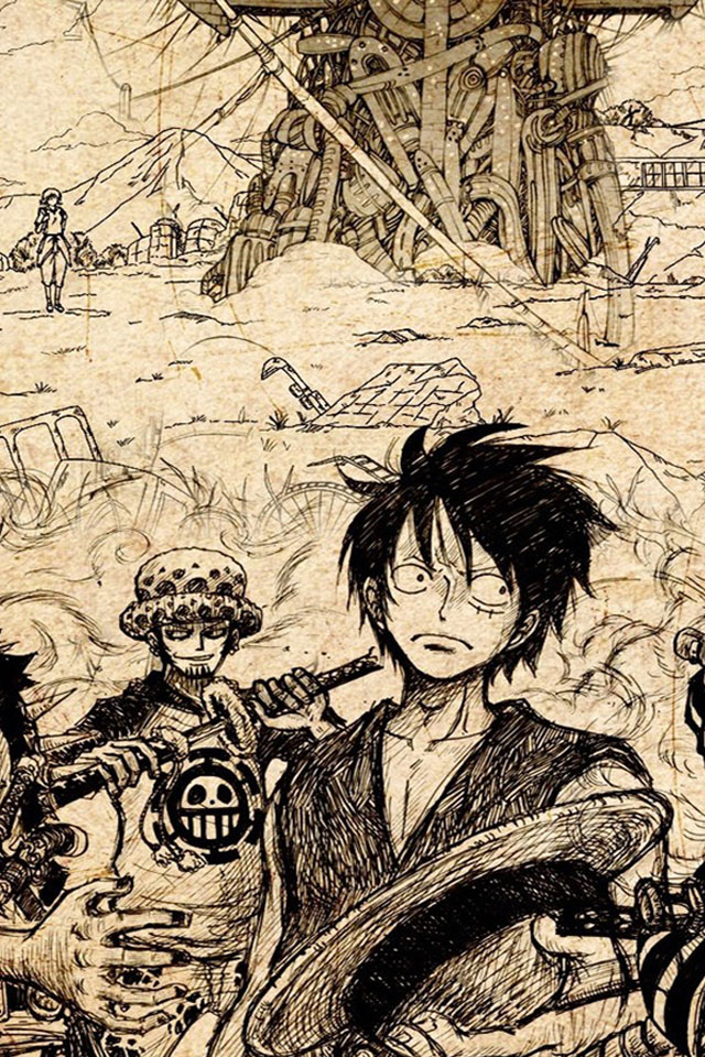 One Piece Wallpaper Hd For Android Hd 640x960 Download Hd Wallpaper Wallpapertip