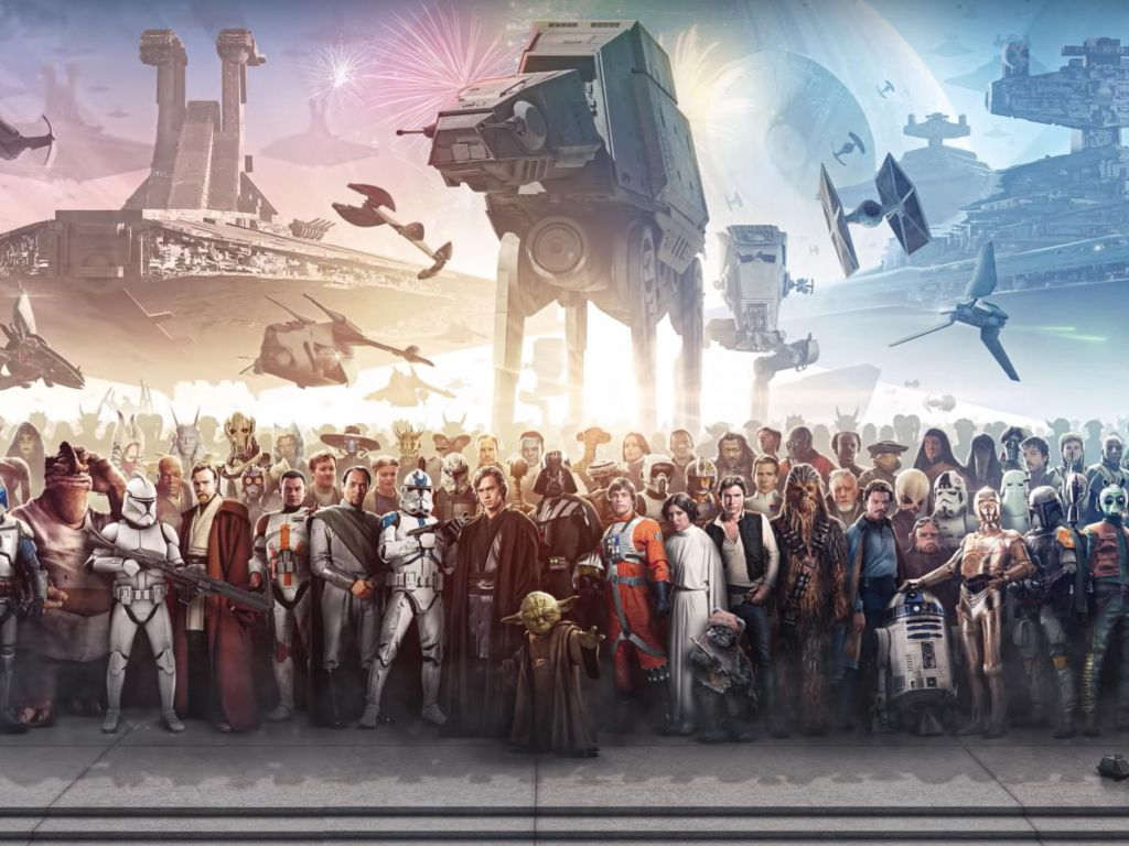 Epic Star Wars Wallpaper Star Wars Wallpaper Benny Productions 1024x768 Download Hd Wallpaper Wallpapertip