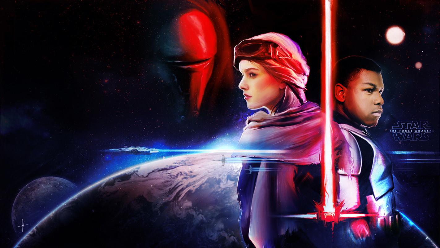 Star Wars The Force Awakens Wallpaper Star Wars The Force Awakens Poster 1422x800 Download Hd Wallpaper Wallpapertip