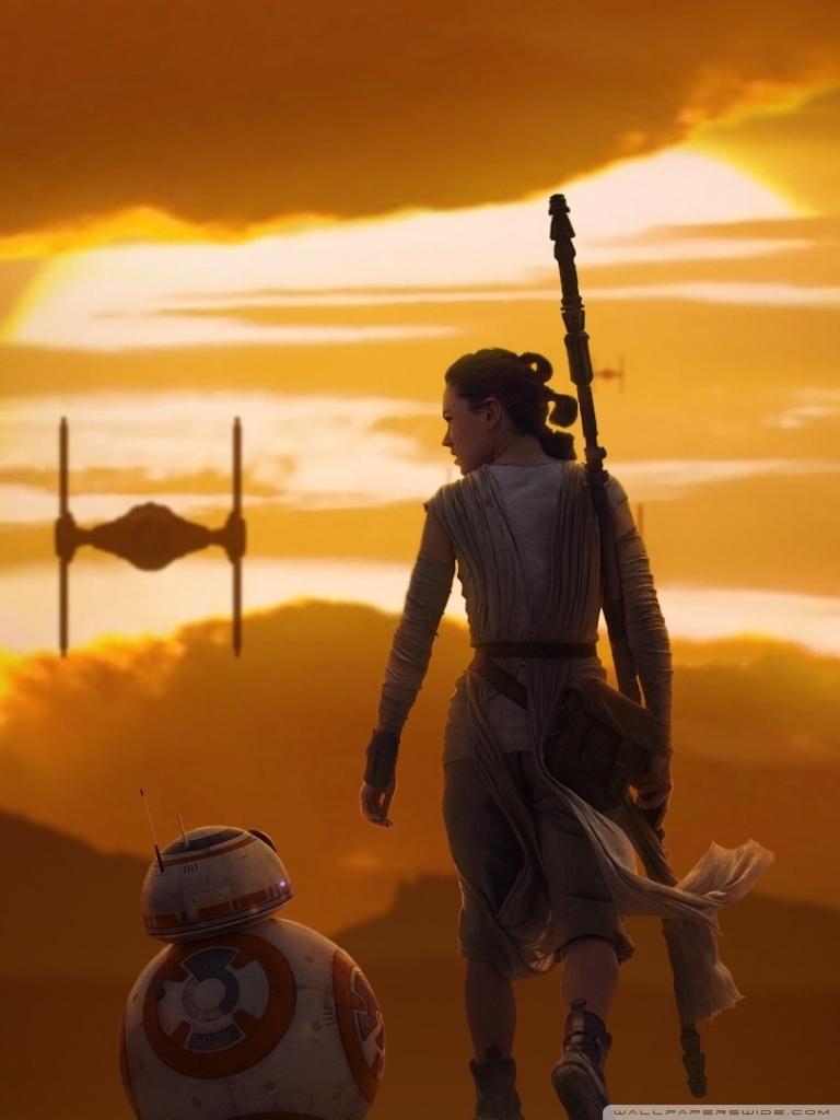 Star Wars The Force Awakens 4k Hd 768x1024 Download Hd Wallpaper Wallpapertip