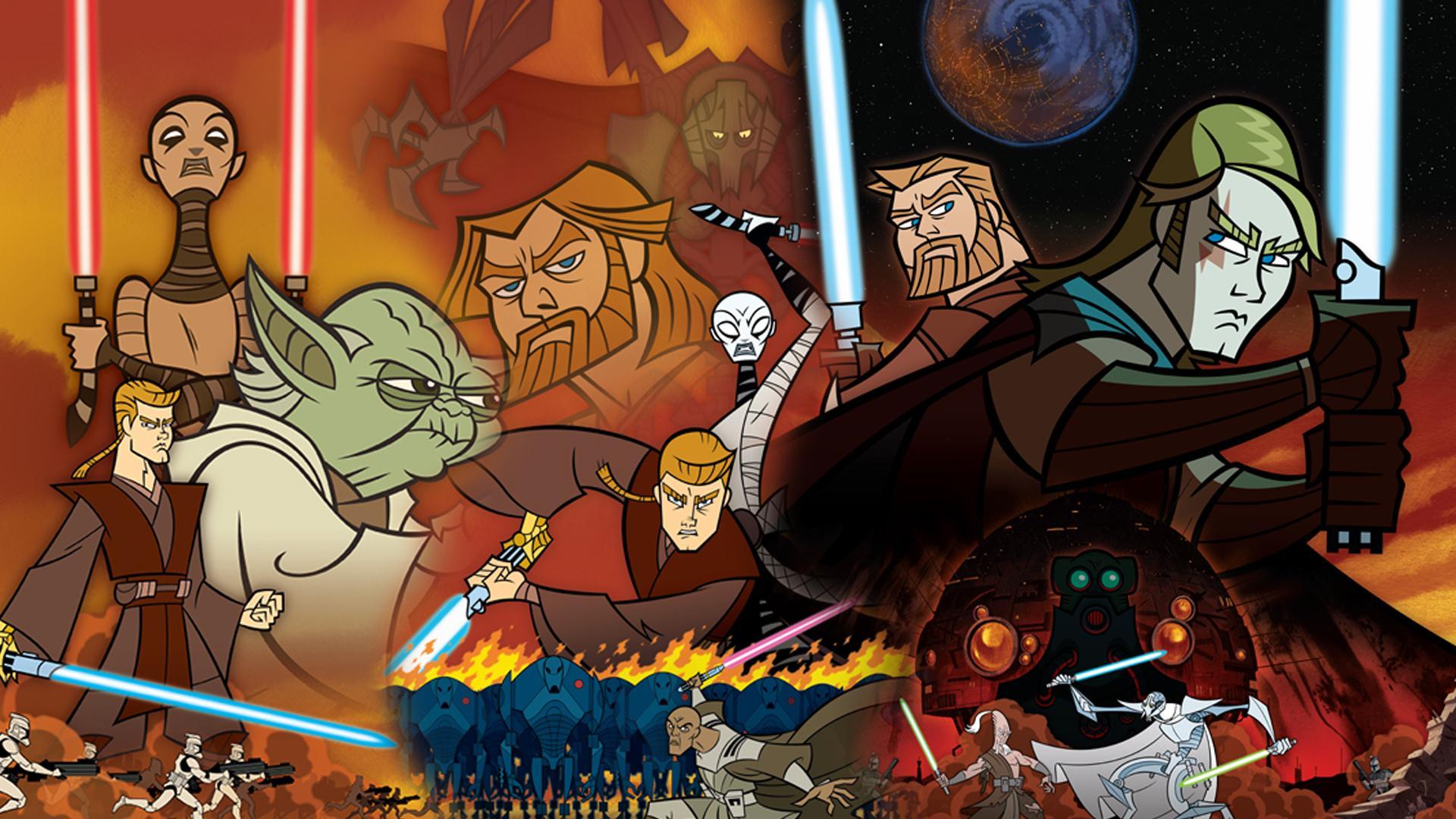 Star Wars Clone Wars 2003 Cover 1920x1080 Download Hd Wallpaper Wallpapertip