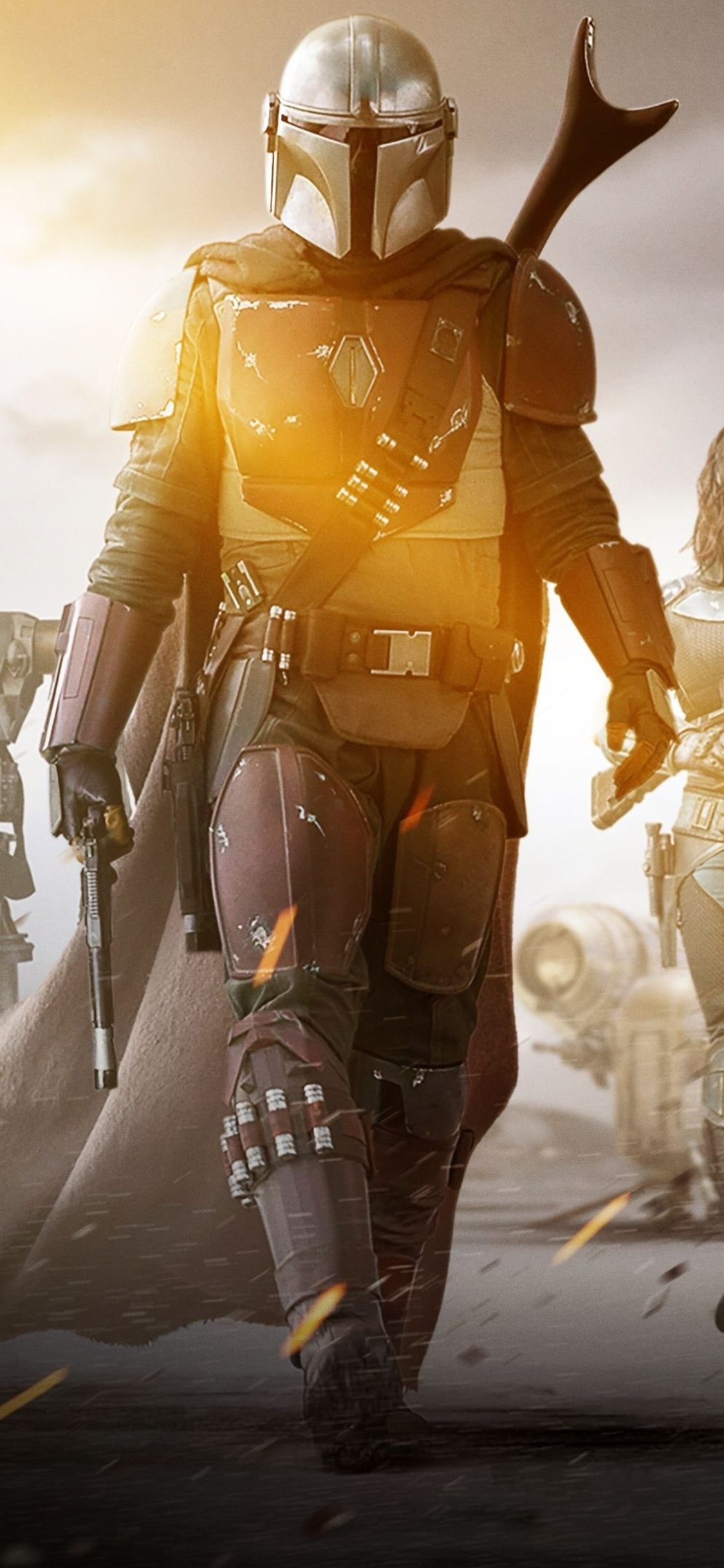 Star Wars Iphone Wallpaper Hd Star Wars The Mandalorian 1125x2436 Download Hd Wallpaper Wallpapertip