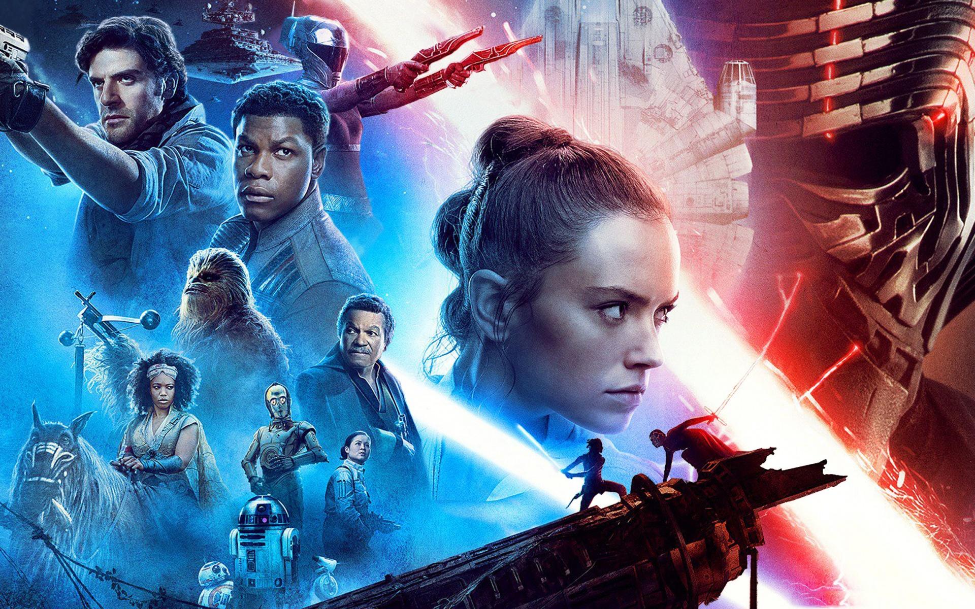 Movie Star Wars The Rise Of Skywalker Star Wars R2 Star Wars The Rise Of Skywalker Poster 1920x1200 Download Hd Wallpaper Wallpapertip