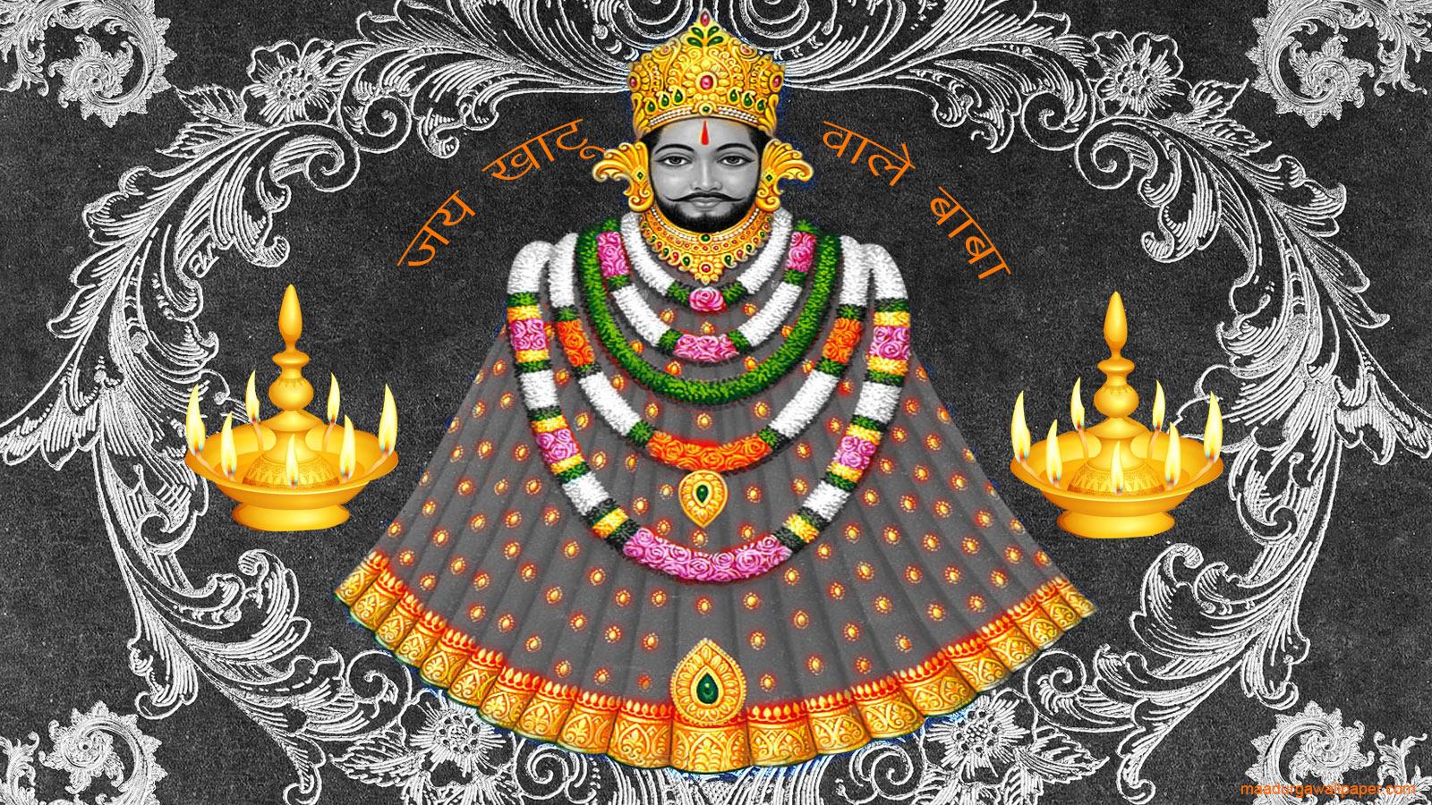 Khatu Shyam Baba Wallpaper Khatu Shyam Baba 1600x900 Download Hd Wallpaper Wallpapertip