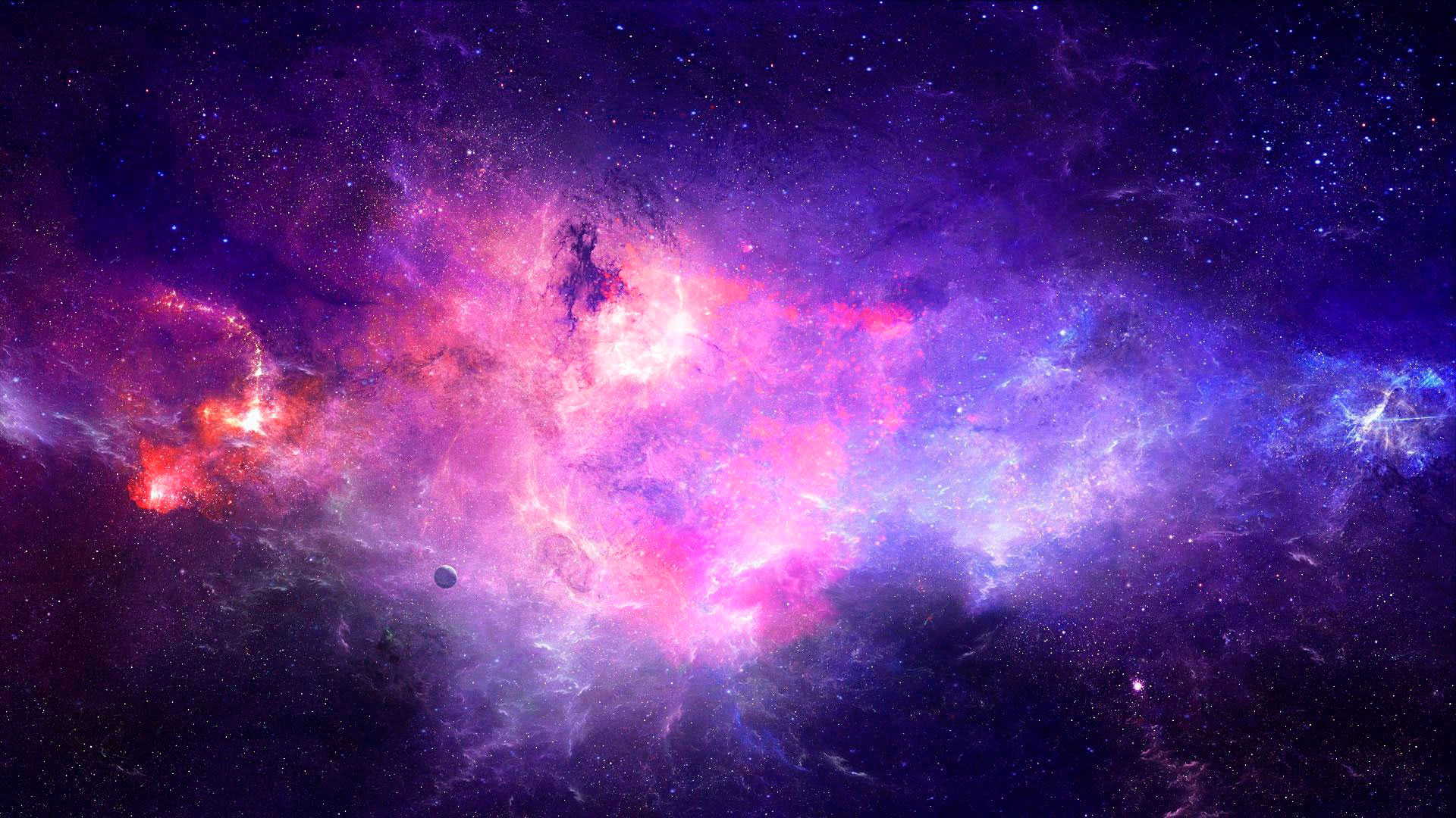 5ehz2cd Galaxy 1080p Wallpapers Purple Galaxy Wallpaper Hd 1920x1080 Download Hd Wallpaper Wallpapertip