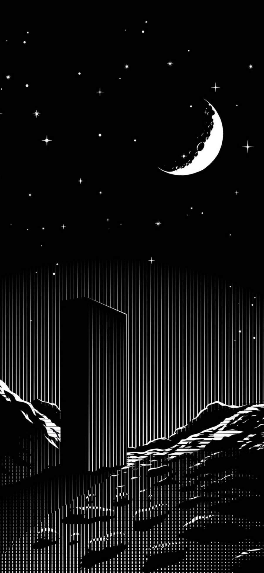 Dark Home Screen Dark Iphone Wallpapers 4k 900x1949 Download Hd Wallpaper Wallpapertip