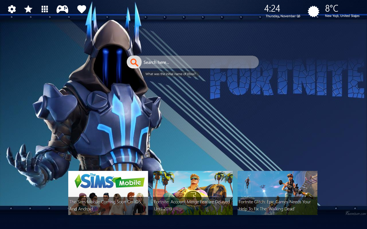 The Ice King Wallpapers Fortnite Wallpaper Ice King 1280x800 Download Hd Wallpaper Wallpapertip