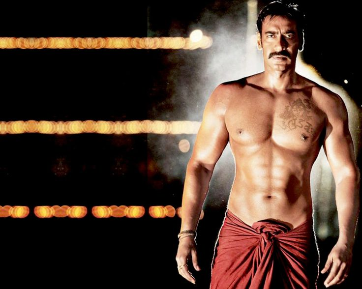 Download Ajay Devgan Six Pack Abs From Singham Movie Ajay Devgan Tattoo In Shivay 736x588 Download Hd Wallpaper Wallpapertip