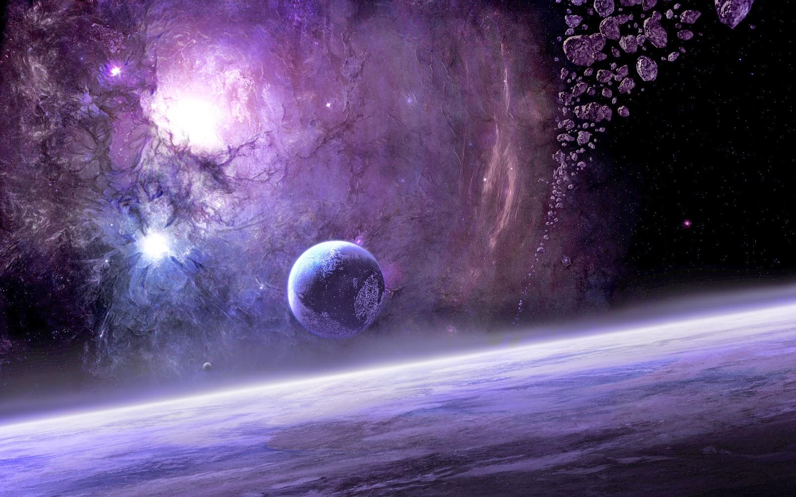Galaxy Animasi Luar Angkasa