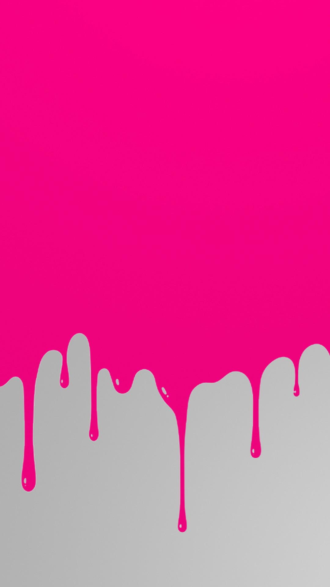 Background Driping Bpink Hd Wallpaper Iphone 6 Plus Cute Hot Pink Background 1080x1920 Download Hd Wallpaper Wallpapertip
