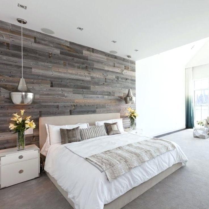 Reclaimed Wood Feature Wall Master Bedroom Design With Master Bedroom Ideas Reclaimed Wood 736x734 Download Hd Wallpaper Wallpapertip