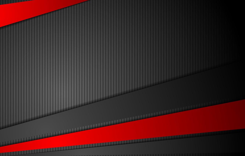 Photo Wallpaper Vector, Abstract, Red, Black, Design, - Background Black Red  Vector - 1332x850 - Download HD Wallpaper - WallpaperTip